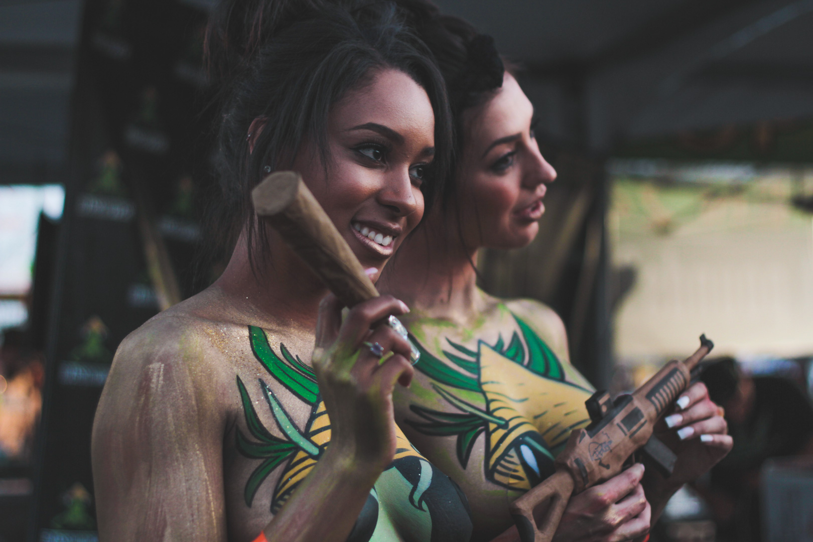Bodypaint in Los Angeles