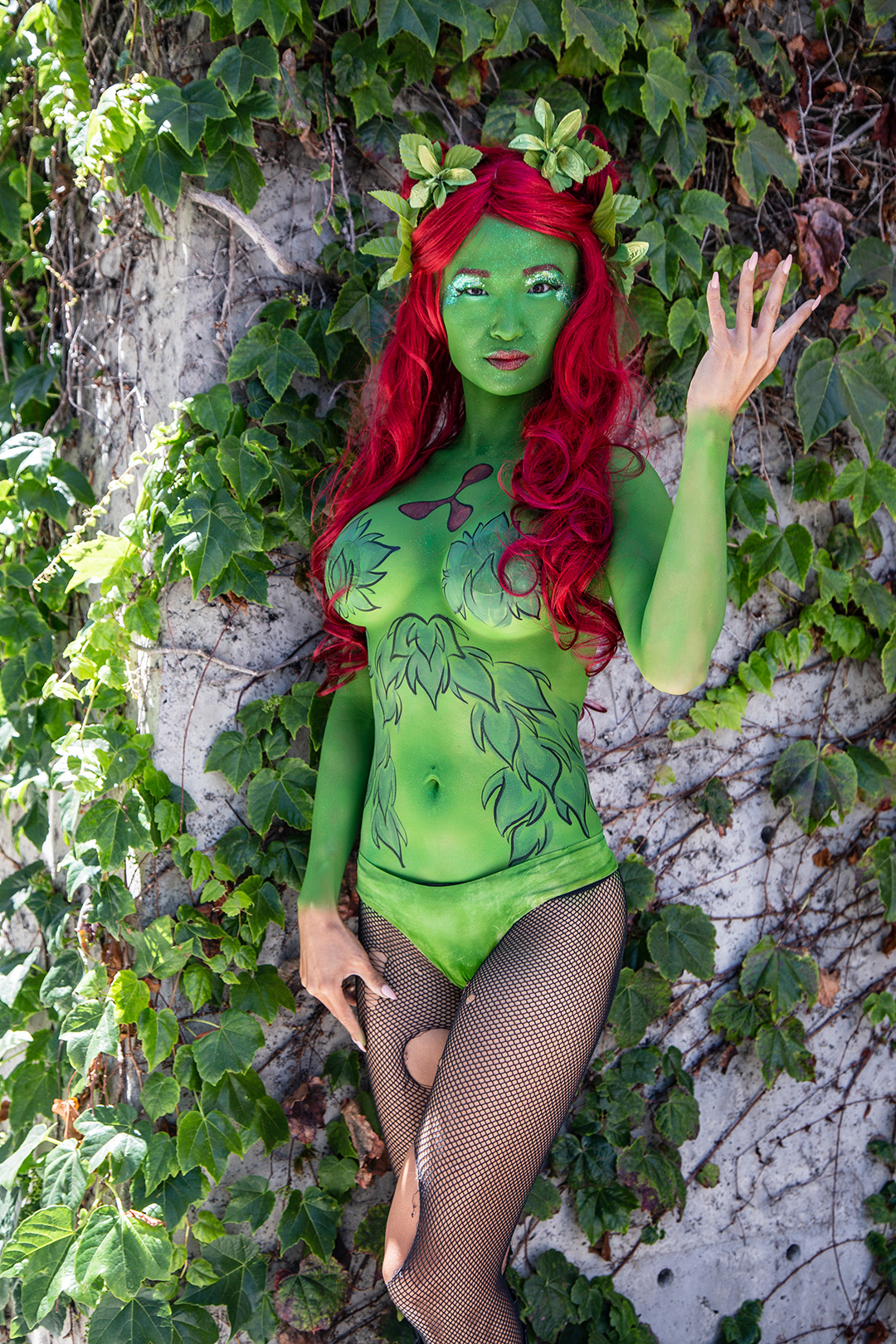 Superhero Bodypaint